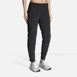 Brooks Chaser Running Pants with Pockets Lightweight Black Women's Size S