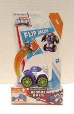 "Playskool Heroes Transformers Rescue Bots Flip Racers Blurr Multicolor 2.5"" New"