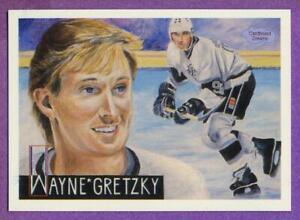 Wayne Gretzky Los Angeles Kings 1991 Cardboard Dreams Oddball Art Card #4