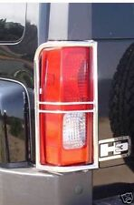 06-09 Hummer H3 Stainless Steel Rear Tail Light Guards