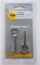 2 x Yale/Chubb 8K109 Key For Window Lock Pack of 2 (V-8K109K-2)