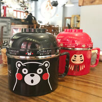 Cute Cartoon Stainless Steel Bento Lunch Box Thermal Insulation Food Container