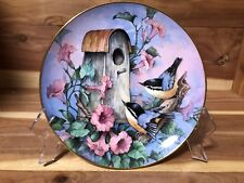 """Royal Doulton Franklin Mint """"Nuthatch Nook"""" by Carolyn Shores Wright pre-own"""