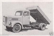 MAGIRUS S 3500 * orig. Sammelbild * 1950