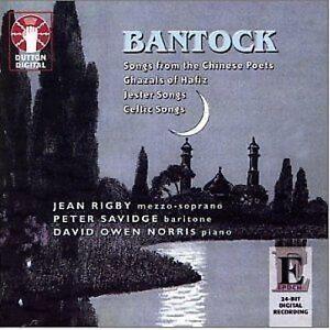 Sir Granville Bantock SONGS