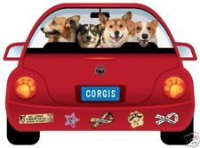 CORGI PUPMOBILE  car magnet