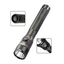 Streamlight 75810 Black Stinger Dual Switch Rechargeable C4 LED Flashlight Light