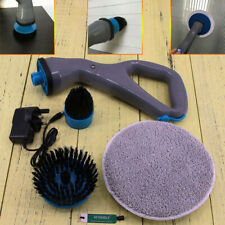 New Hurricane Muscle Scrubber Electrical Cleaning Brush for Bathroom Shower Tile