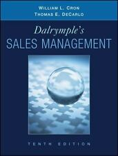 Dalrymple's Sales Management : Concepts and Cases by Thomas E. DeCarlo and Willi
