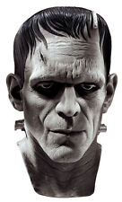 Halloween LifeSize Costume FRANKENSTEIN MASK LATEX DELUXE MASK Haunted House NEW