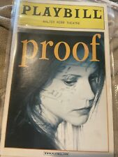 Playbill PROOF Mary Louise Parker