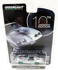 GREENLIGHT 27940 D 1979 PONTIAC FIREBIRD T/A 10th ANNIVERSARY 1/64 SILVER Chase