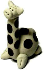 "Miniature Giraffe 2.4"" Hand Sculpted Clay"