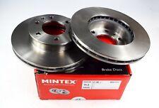 2X MINTEX FRONT DISC BRAKES MDC1771 MERCEDES-BENZ SPRINTER T1 V-CLASS VW CRAFTER