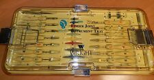 Wright 2424-0000 Finger Joint Instruments and Tray