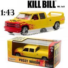 GREENLIGHT 86481 1997 CUSTOM CREW CAB PUSSY WAGON KILL BILL VOL 1&2 DIECAST 1:43