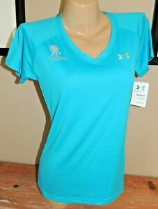 NWT WOMENS UNDER ARMOUR WOUNDED WARRIOR WWP PERFORMANCE SHIRT 1228321 679 LARGE