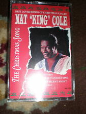 Nat King Cole CASSETTE The Christmas Song NEW