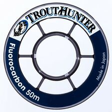 TroutHunter Fluorocarbon Tippet 50 M Available in 3x 4x 4.5x 5x 5.5x 6x 6.5x 7x
