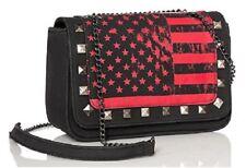 Abbey Dawn by Avril Lavigne Rockstar Cross body Handbag - Red/Black