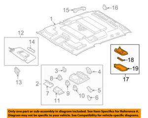 81240-60060-B0 Toyota Lamp assy, room, no.1 8124060060B0, New Genuine OEM Part