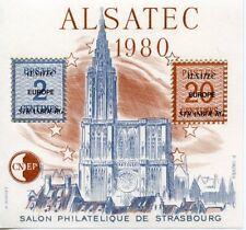 TIMBRE FRANCE BLOC FEUILLET C.N.E.P.  N° 1 ** SALON PHILATELIQUE STRASBOURG