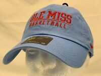 Nike Ole Miss Rebels Basketball Slouch Cap Hat Heritage86  Campus Cap New
