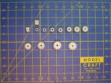 2 pignons M0.5 axe 2 mm choix 7 à 14 dents moteur voiture JOUEF ROCO STROMBECKER