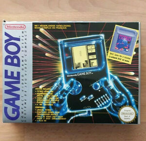 Boite vide Nintendo GAME BOY FAT DMG-GBTR-FAH  DGM-01