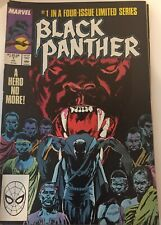 Black Panther #1 Comic Marvel 1988 Limited Series T'Challa Gillis Denys Cowan