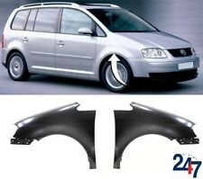 NEW VOLKSWAGEN TOURAN 2003 - 2006 FRONT WING FENDER LEFT N/S RIGHT O/S PAIR SET