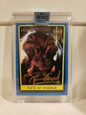 2018 Topps Archives Signature Star Wars Tim Dry As J'Quille 1983 Auto #'d 11/43