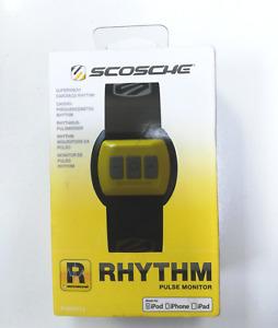 Scosche RHYTHM Armband Pulse Monitor Yellow & Grey - Fitness Band