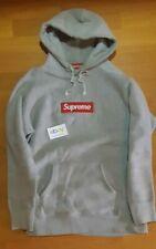 SUPREME BOX LOGO Hoodie Grey FW17 Size XL EUR 169,76