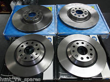 Juratek Calidad Delantero Y Trasero De Discos De Freno 345 mm / 310mm