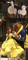 Disney Parks Beauty and The Beast Christmas Ornament New