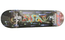 "Brand New 31""X 8"" Complete Skateboard W/Dragon Graphic"