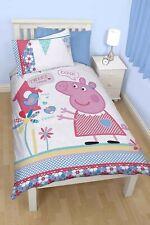 Peppa Pig Tweet Single Panel Duvet Cover Set Kids Bedding