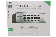 GLYPH SR8000 STUDIORAID 8TB 2-BAY USB 3.1 GEN 1 RAID ARRAY EXTERNAL HARD DRIVE