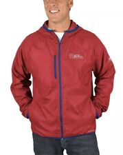 Majestic Men's Philadelphia Phillies Strong Will DryBase Full Zip Jacket Large L