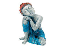 Sleeping Buddha Statue Aquarium Thai Ornament Oriental Fish Tank Decoration