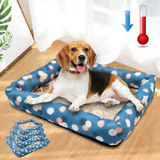 Dog Cooling Bed Summer Sleeping Mat for Dogs Pet Cat Waterproof Cushion S M L XL