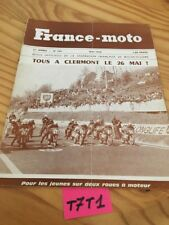 France moto magazine FFM N° 145 mai 1968