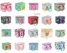 Sass & Belle Insulated Lunch Bag Picnic  Bag School Lunchbox Cool Bag Kids