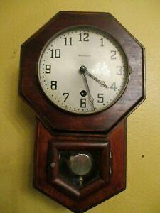 Antique Waterbury Danetie No. 2 Miniature School Clock