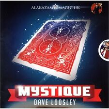 MYSTIQUE COLOR CHANGING DECK DVD & GIMMICKS BY DAVE LOOSELY MAGIC TRICKS BICYCLE