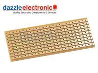 5x Copper stripboard 25 x 64mm 9 strip x 25 hole prototyping vero solder board