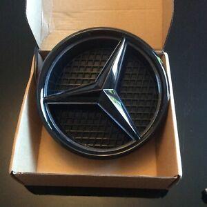 Mercedes Gloss BLACK LED Front Grille STAR BADGE W205 A,C,B,GLA,GLK,CLA,CLS,ML,E