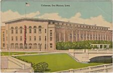 """Old"" Des Moines Coliseum in Des Moines, Iowa - Opened 1908 - Demolished 1949"