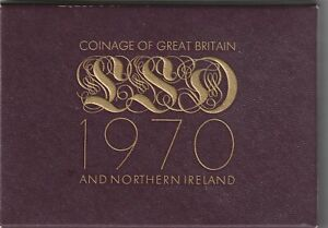 1970 Royal Mint Proof Coin Year Set.